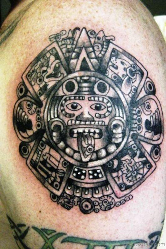 Aztec Tattoo