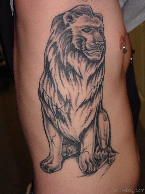 Balck Lion Tattoo