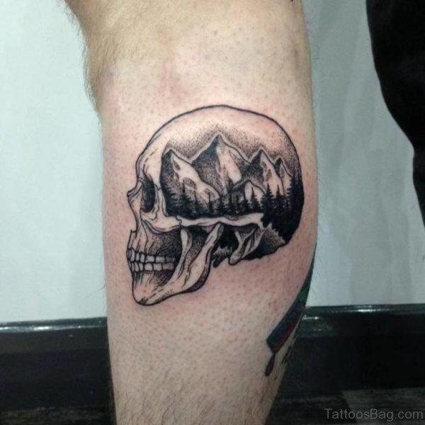 Balck Skull Tattoo