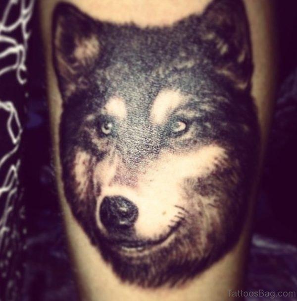 Balck Wolf Tattoo