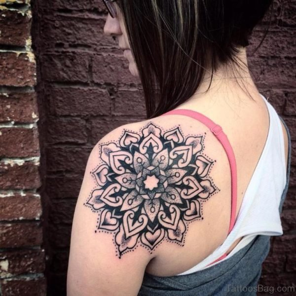 Baroque Mandala Tattoo