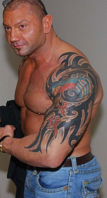 Batista Tribal Tattoo