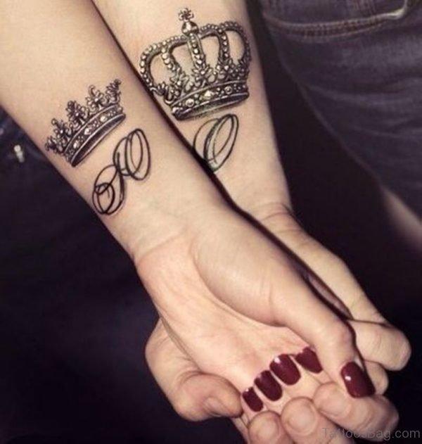 Beautiful Crown Tattoo