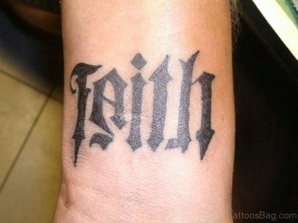Beautiful Ambigram Tattoo Design