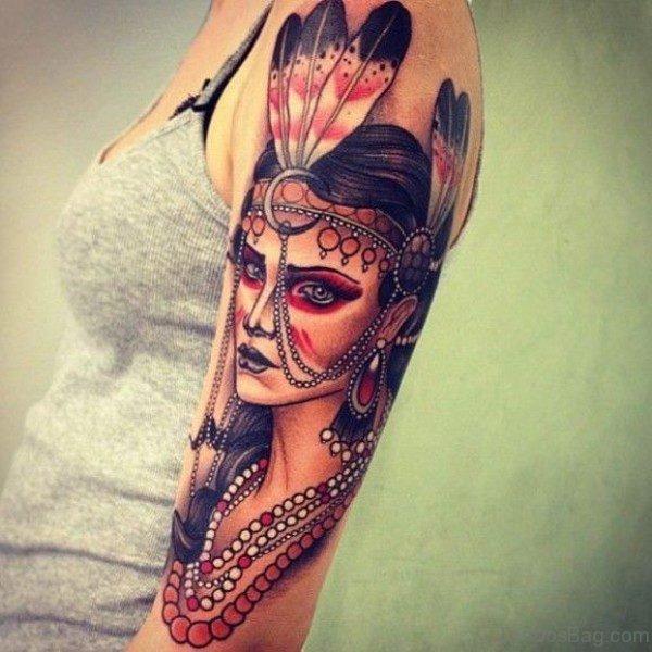 Beautiful American Tattoo