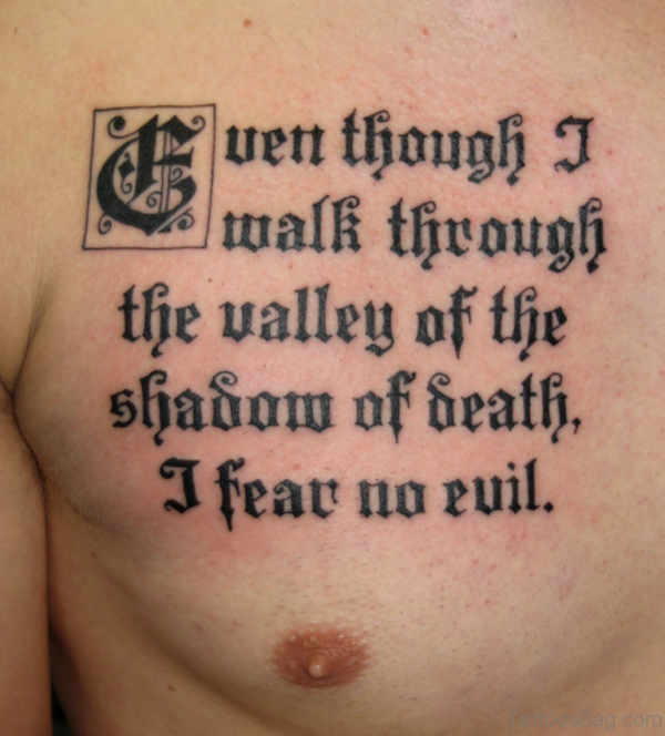 Beautiful Bible Verse Tattoo