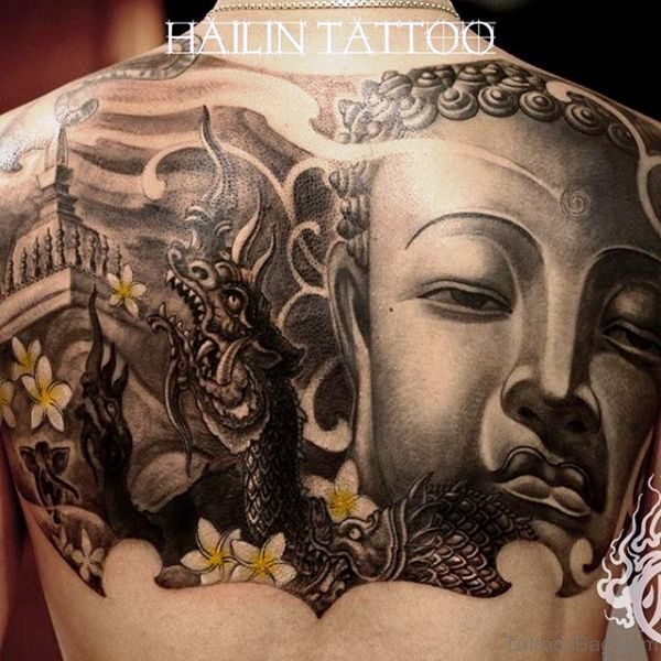 Beautiful Buddha Tattoo Design 1