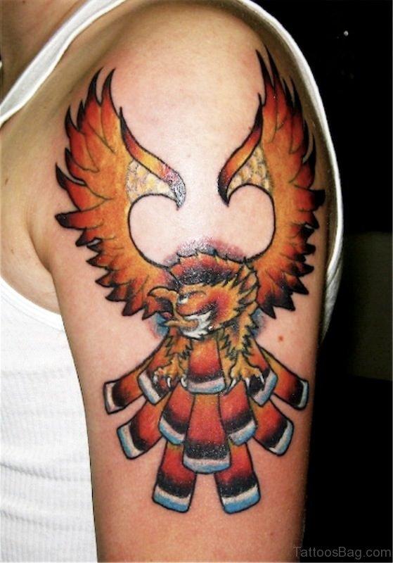 Beautiful Eagle Tattoo Design
