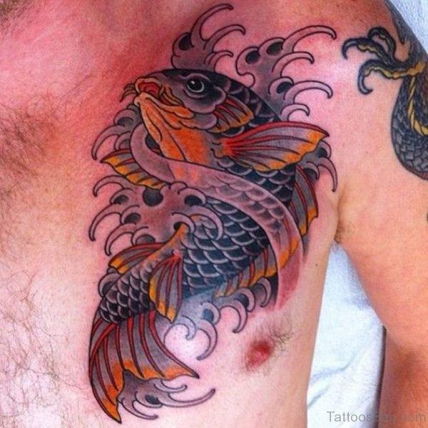 Beautiful Fish Tattoo
