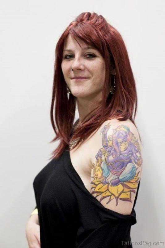 Beautiful Ganesha Tattoo