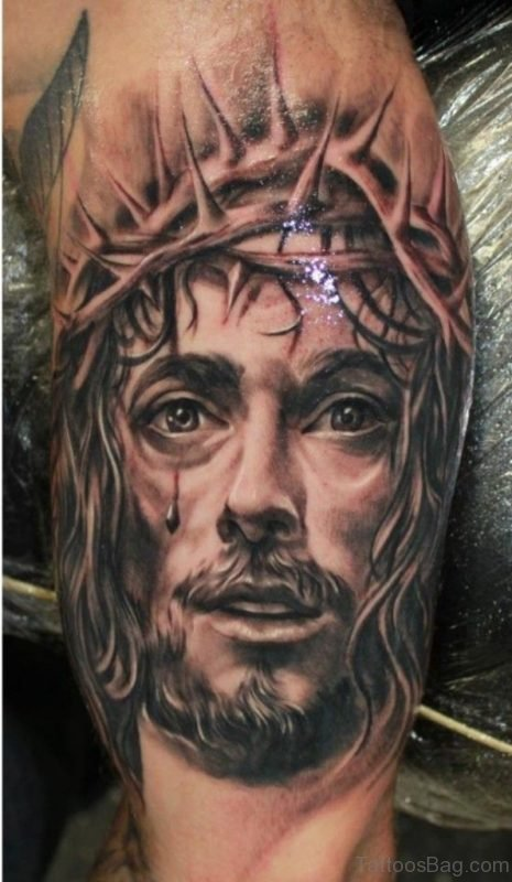 Beautiful Jesus Tattoo