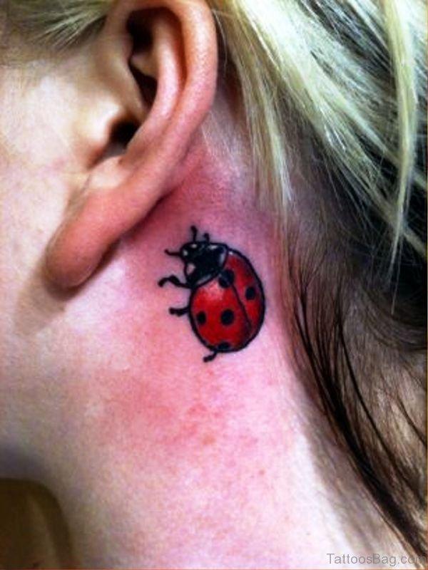 Beautiful Ladybug Tattoo