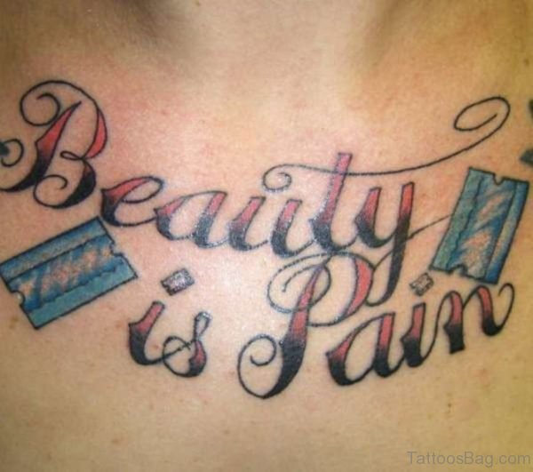 Beautiful Legacy Word Tattoo
