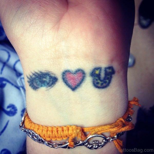 Beautiful Love You Tattoo