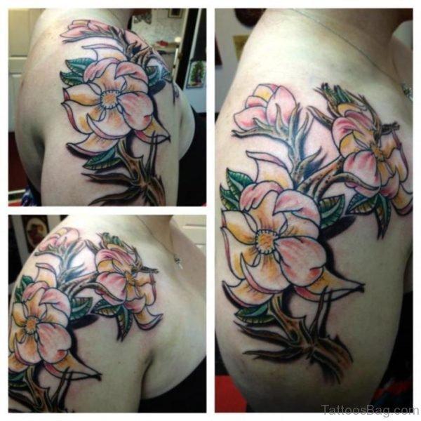 Beautiful Magnolia Tattoo