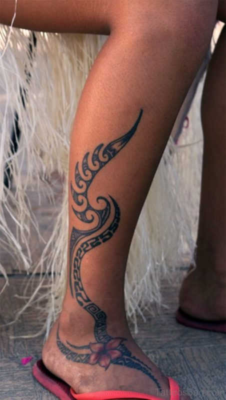 Beautiful Tribal Tattoo Design