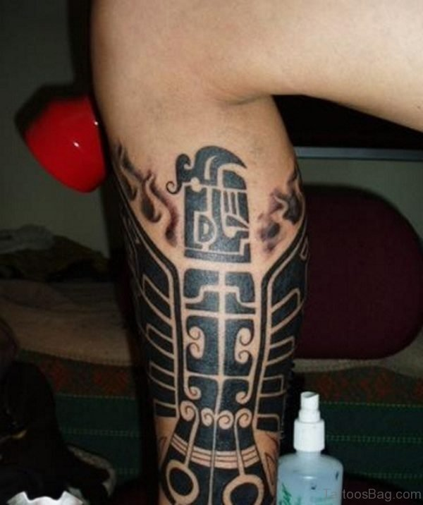 Beautiful Tribal Tattoo Design Picture