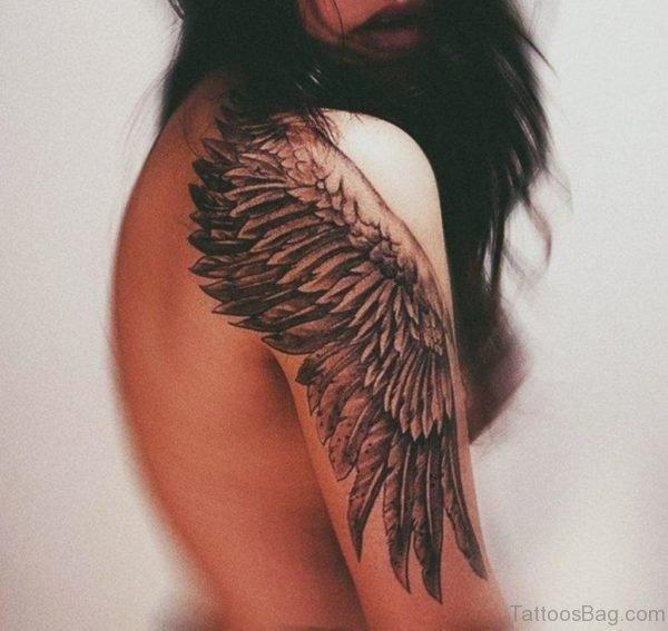 Beautiful Wings Tattoo