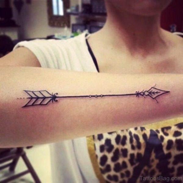 Best Arrow Tattoo On Arm