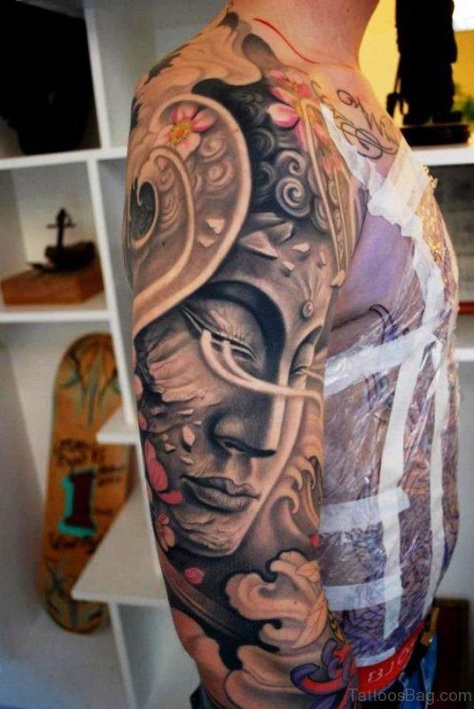 Best Buddha Tattoo Full Sleeve