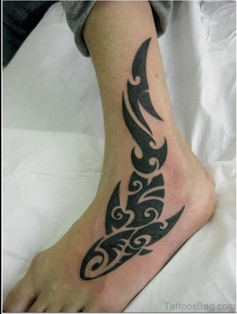 Best Drawing Tattoo On Ankle