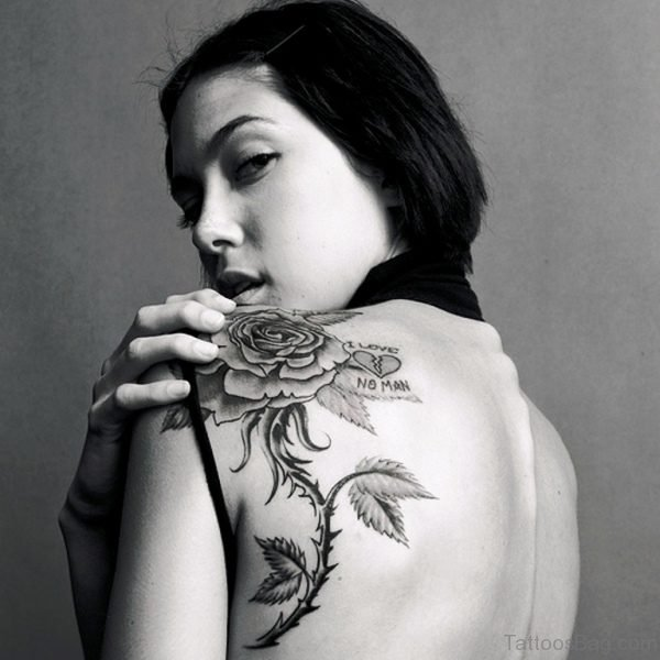 Best Rose Tattoo Design