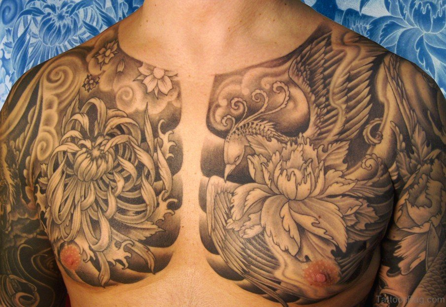 Best Chest Tattoos: 92 Funky Chest Tattoos For Men