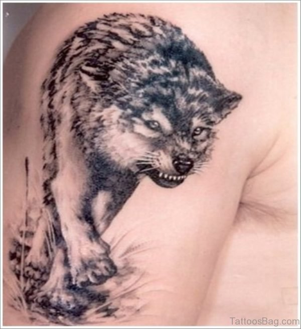 Best Wolf Tattoo Design