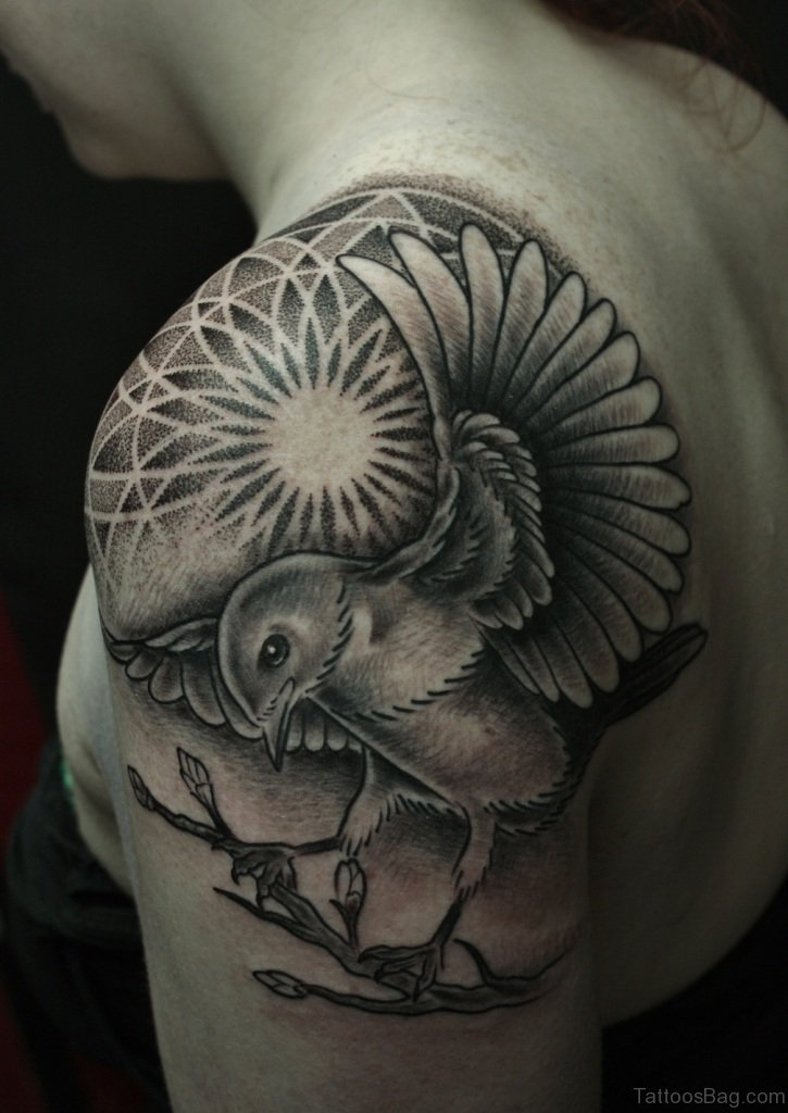 80 Super Duper Mandala Tattoo Designs On Shoulder