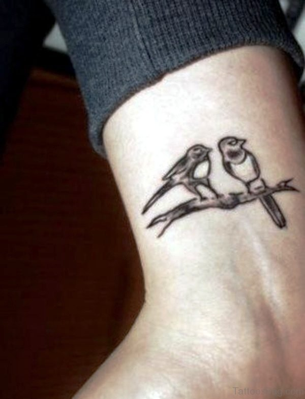 Birds Tattoo On Wrist 1