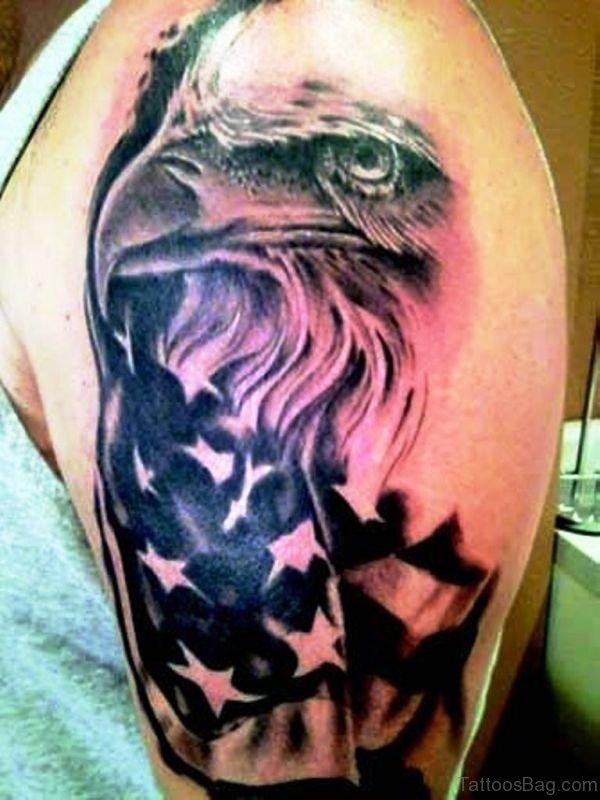 72 stunning eagle tattoos on shoulder. Black Bedroom Furniture Sets. Home Design Ideas