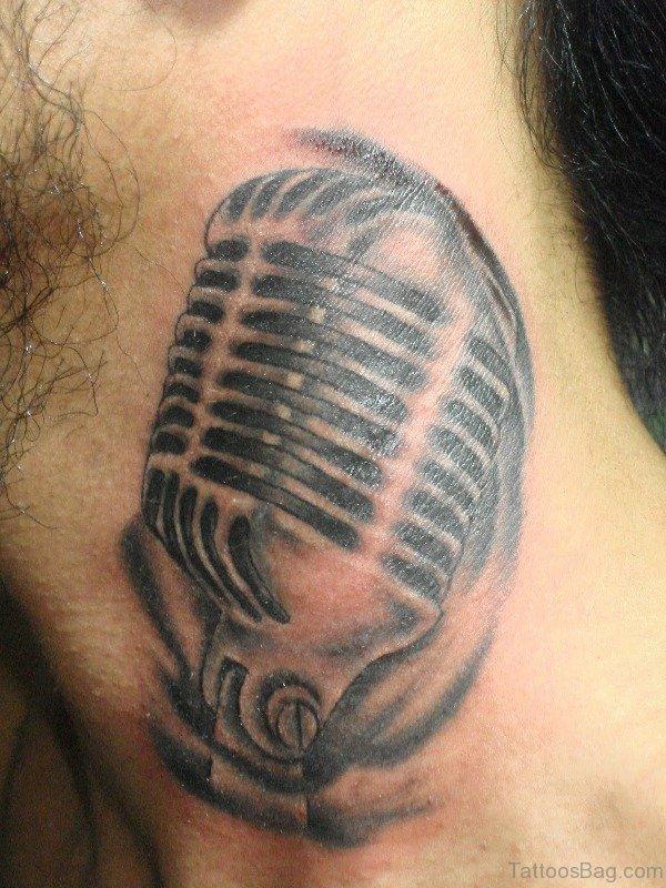 Black And Grey Mick Tattoo