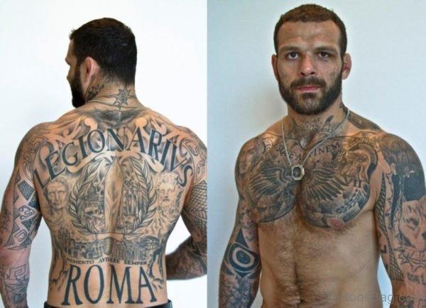 Black And Grey Tattoo Design