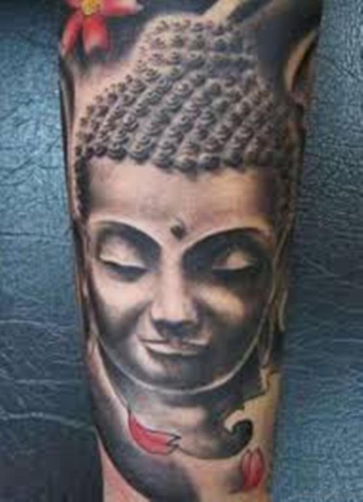 81 nice buddha tattoo on shoulder. Black Bedroom Furniture Sets. Home Design Ideas
