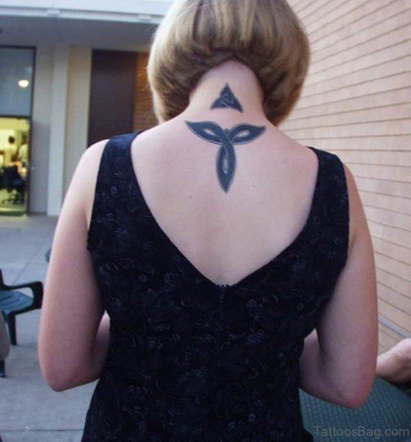 Black Celtic Knot Tattoo