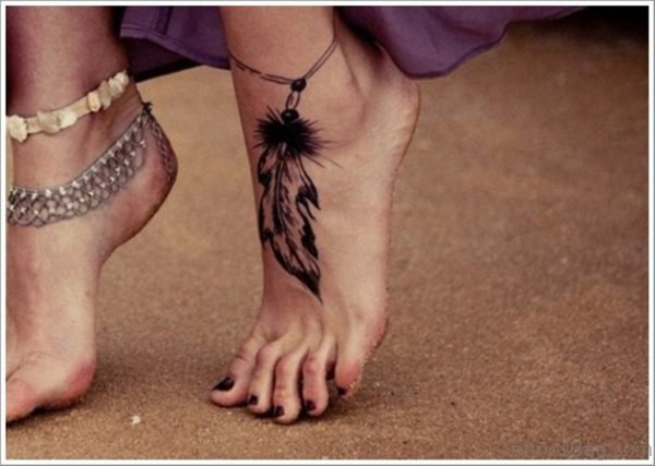 Black Dreamcatcher Tattoo