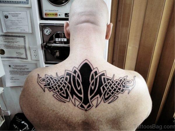 Black Ink Celtic Tattoo