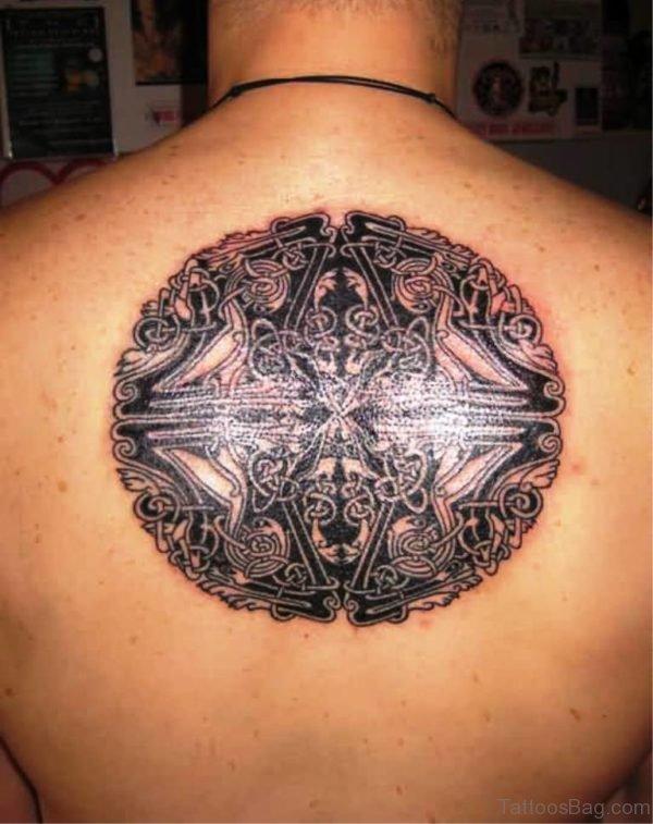 Black Ink Celtic Tattoo Design