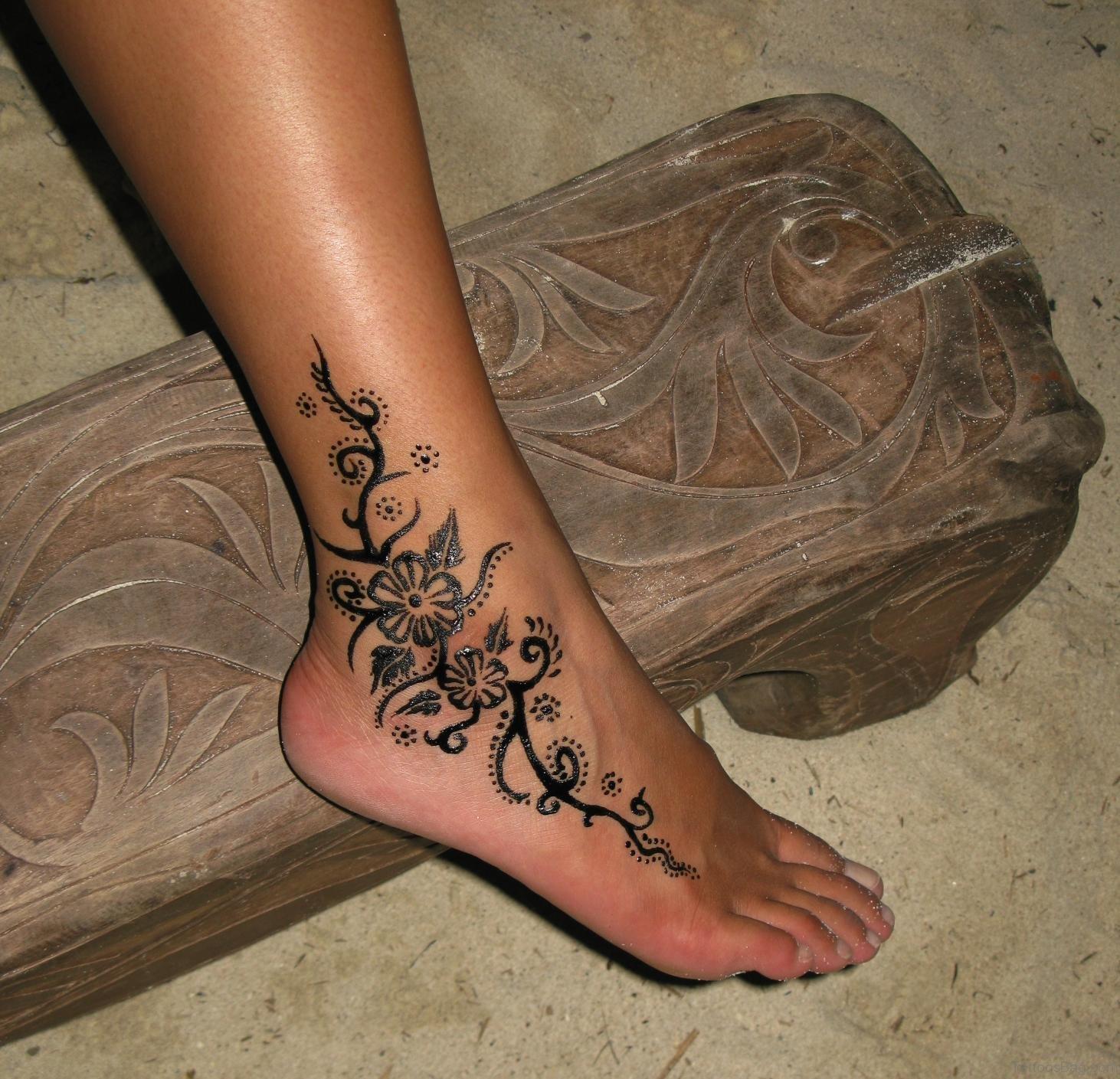 69 Stylish Ankle Tattoos