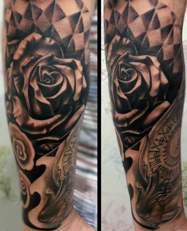 100 best full sleeve tattoos for men for Forearm tattoo sleeves