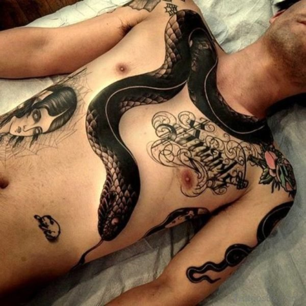 Black Snake Tattoo