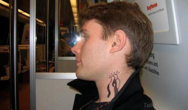 Black Virgin Mary Tattoo