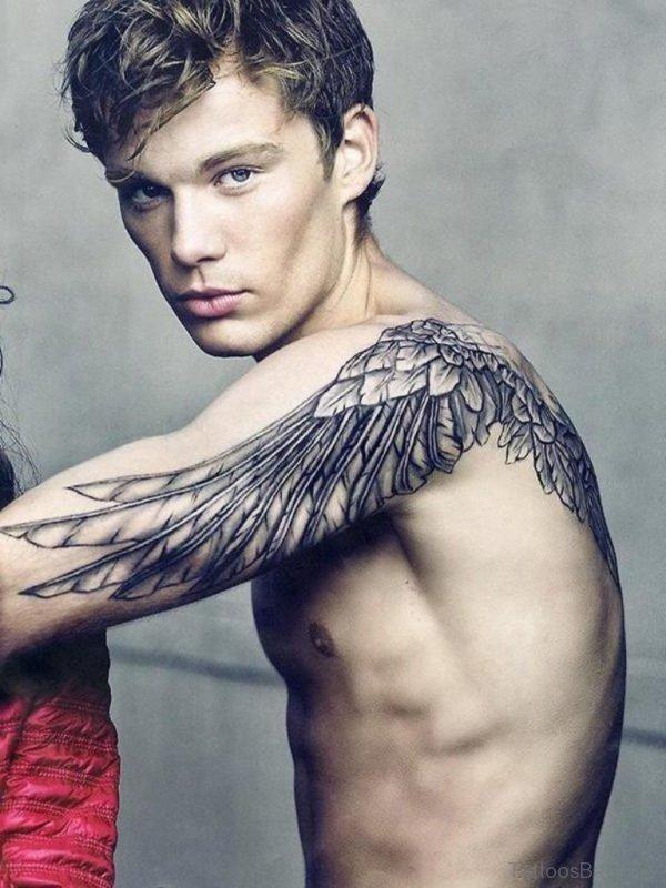Black Wing Tattoo