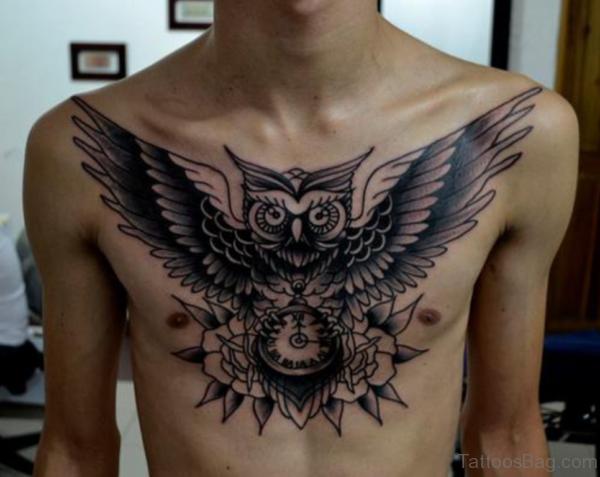 Black Wings Tattoo Design