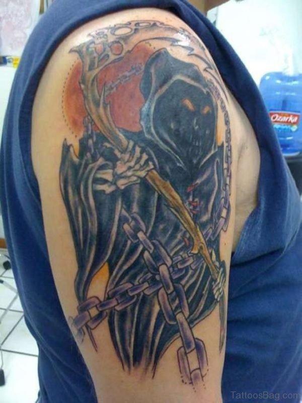 Black Zombie Tattoo