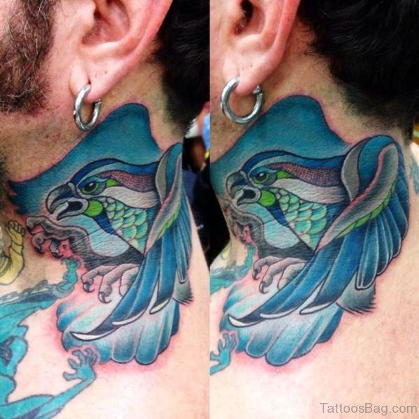 Blue Bird Tattoo Design