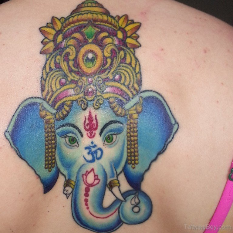 Tattoo Designs Ganesh: 50 Great Ganesha Tattoos On Back