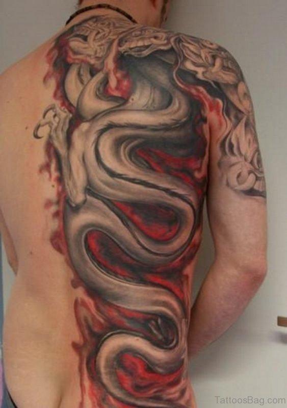 Briliant Dragon Tattoo