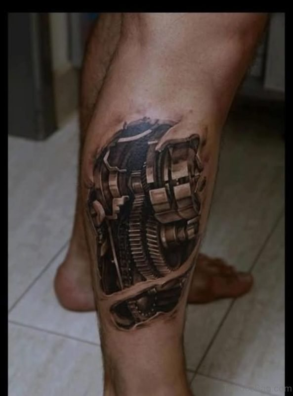 Brillaint Biomechanical Tattoo