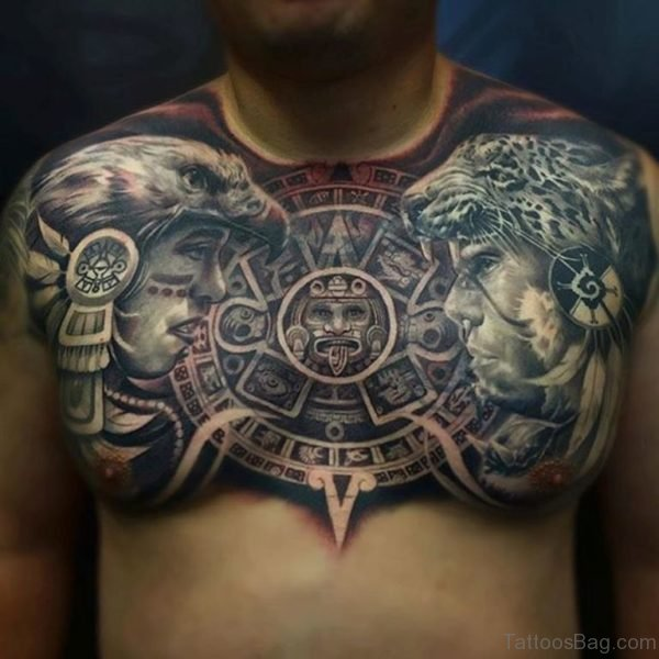 Brilliant Aztec Tattoo